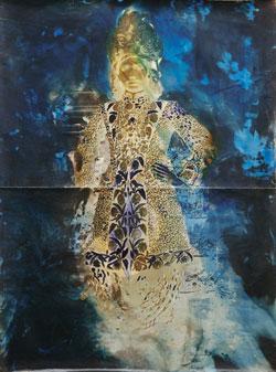 Johannes Brus, Der Maharajah von Indore, 1998, 220 x 190 cm; Courtesy: Gmyrek Arts, Düsseldorf; Foto: Mick Vincenz