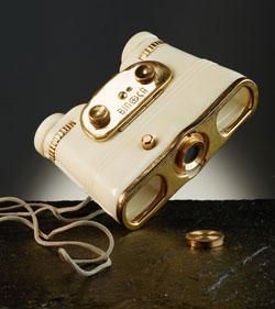 Fernglaskamera Binoca von 1950 © Freilichtmuseum Hessenpark GmbH
