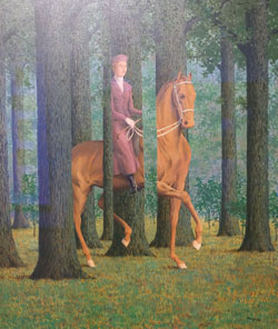 René Magritte Die Blankovollmacht, 1968, Öl auf Leinwand, National Gallery of Art, Washington, Collection of Mr. and Mrs. Paul Mellon, Foto: Diether v. Goddenthow