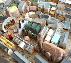 Römer mit Altstadt. Foto: Diether v. Goddenthow