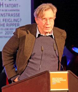 Drehbuchautor Rolf Basedow wurde für seine außergewöhnliche Autorenleistung geehrt. Foto: Diether v. Goddenthow