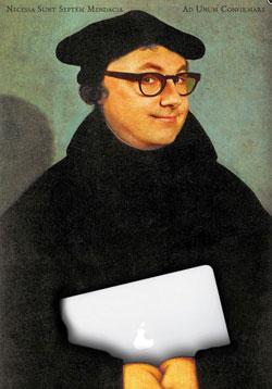 """Westerwälder Literaturtage. Sebastian Schnoy """" Luther war ein Blogger"""""""