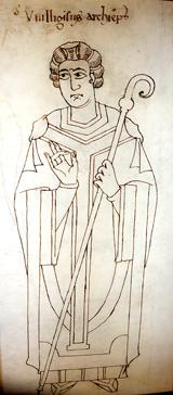 Die frühmittelalterlichen Handschriften aus der Werkstatt des Erzbischofs Willigest markieren den Höhepunkt ottonischer Buchmalerei. Foto: Diether v. Goddenthow