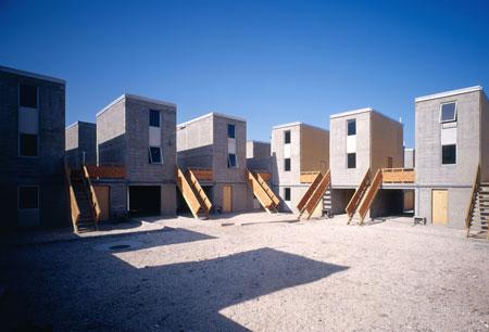 Quinta Monroy, Iquique Architekt: Elemental, Chile Foto: © Tadeuz Jalocha, 2004