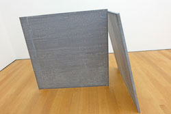 Richard Serra, Two Plate Prop, 1969. Foto: Diether v. Goddenthow