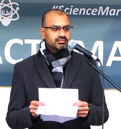 Professor Dr. Joybrato Mukherjee, Präsident der Universität Gießen Foto: Diether v. Goddenthow