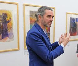 Dr. Roman Zieglgänsberger, Kustos Klassische Moderne, Museum Wiesbaden. Foto: Diether v. Goddenthow