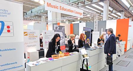 """Themenbereich """"Music Education"""" hier bündelt die Musikmesse pädagogische und gesellschaftsrelevante Angebote rund um das Musizieren. Foto: Diether v. Goddenthow"""