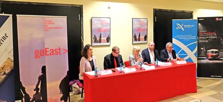 (v.l.)  Gaby Babić, Axel Imholz, Claudia Dillmann, Ingmar Jung, Dr. Helmut Müller Foto: Diether v. Goddenthow