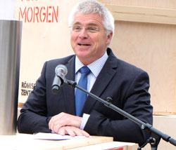 Dipl.-Ing. Holger Basten Geschäftsführer des bauausführenden Landesbetrieb LBB. Foto: Diether v. Goddenthow © atelier-goddenthow