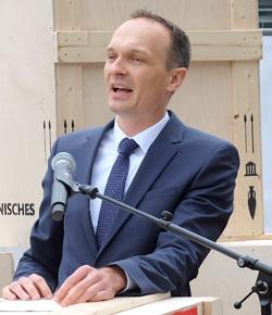 Dr. Stephan Weinberg, Staatssekretär im Finanz- und Bauministerium. Foto: Diether v. Goddenthow © atelier-goddenthow