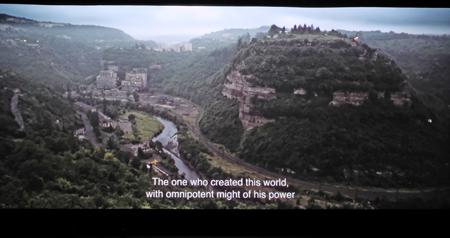 Filmausschnitt: Bergarbeitersiedlung Chiatura in Westgeorgien,