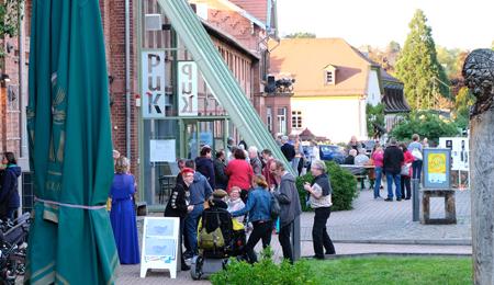 Museumsmeile der Museen im Rittergut Bangert. Mit der langen Museumsnacht hat Bad Kreuznach seine Kulturszene bereichert.Foto:. Diether v. Goddenthow