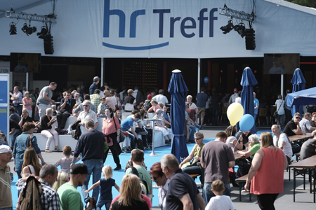 hr-Treff Hessentag Foto: © Tim Wegner