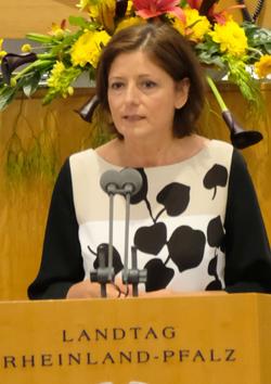 Malu Dreyer, Ministerpräsidentin  von Rheinland-Pfalz und amtierende Bundesratspräsidentin.oto:. Diether v. Goddenthow