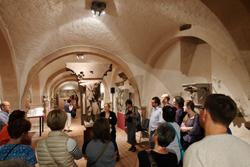 Im Bischöflichen Dom- und Diözesan-Museum war der Gewölbekeller  und das Kreuzgang-Obergeschoss  geöffnet. Zudem gab es Engelsgießen usw. Foto: Diether v. Goddenthow © atelier-goddenthow