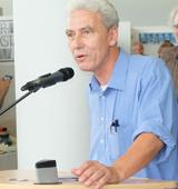 Jürgen Kipp, auch Mister Minipressen-Messe genannt. Foto: Diether v. Goddenthow