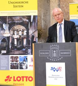 Dr. Markus Harzenetter, Präsident des Landesamtes für Denkmalpflege Hessen Foto: Diether v. Goddenthow