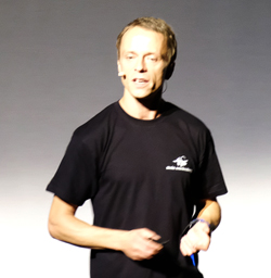 Dr. Sebastian Lotzkat  Senckenberg-Wissenschaftler und namhafter Reptilienforscher. Foto: Diether v. Goddenthow