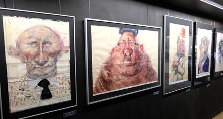 Galerie der Diktatoren --- Foto: Diether v. Goddenthow
