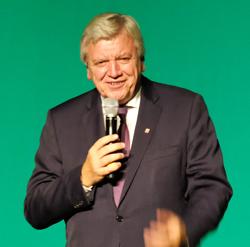 Volker Bouffier, Hessische Ministerpräsident und Schirmherr der Veranstaltung. Foto: Diether v. Goddenthow