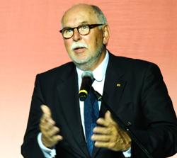 Professor Dr. Ing. Matthias Kleiner, Präsident der Leibniz-Gemeinschaft Foto: Diether v. Goddenthow