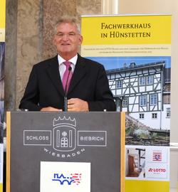 Dr. Heinz-Georg Sundermann, Geschäftsführer LOTTO Hessen GmbH Foto: Diether v. Goddenthow
