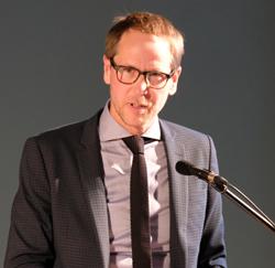 Hauke Hückstädt, Leiter des Literaturhauses Frankfurt. Foto: Diether v. Goddenthow