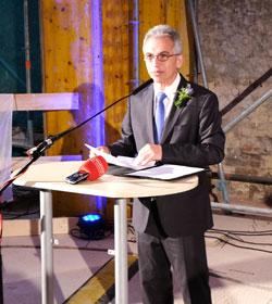 Oberbürgermeister Peter Feldmann. Foto: Diether v. Goddenthow