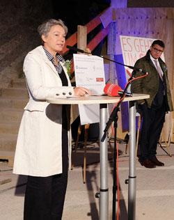 Dr. Ina Hartwig,  Sozialdezernentin der Stadt Frankfurt. Foto: Diether v. Goddenthow