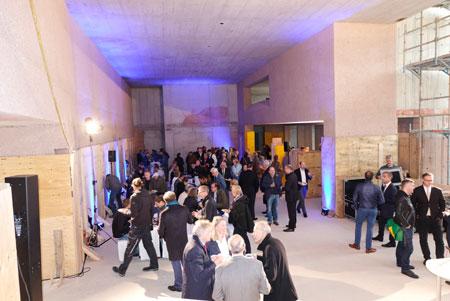 Im Erdgeschoss stehen 400 Quadratmeter für Wechselausstellungen zur Verfügung, in den oberen und seitlichen Bereichen rund 1200 Quadratmeter für die Dauerausstellung. Foto: Diether v. Goddenthow