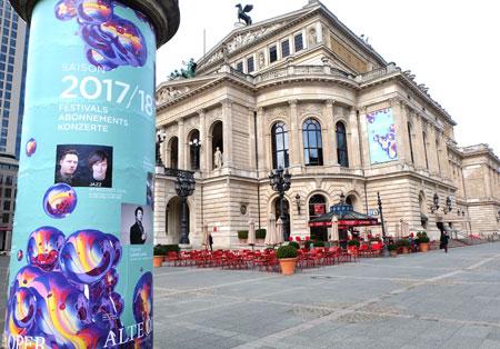 Alte Oper Frankfurt Foto: Diether v. Goddenthow