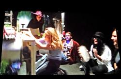Szene aus Testfilm-Dreh. Foto: Diether v. Goddenthow