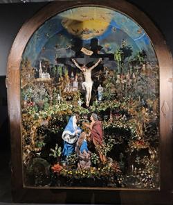 Geburt Christi (1751 - 1775) eines unbekannten Künstlers. Foto: Diether v. Goddenthow