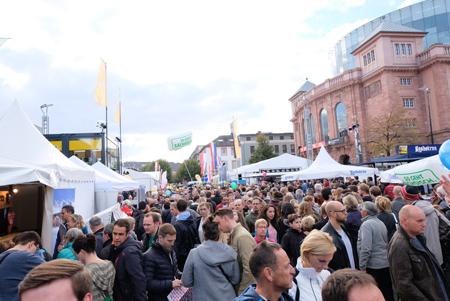 Impressionen vom Tag der Deutschen Einheit Foto: Diether v. Goddenthow