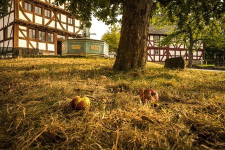 Apfelfest im Hessenpark am 21. und 22. Oktober. Foto: Jürgen Lamberti