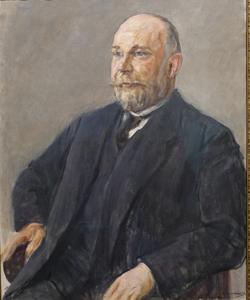 Bildnis Heinrich Kirchhoff (1918) von Max Liebermann (1847 - 1935) Foto: Diether v. Goddenthow