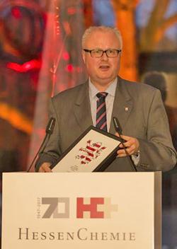 Dr. Tomas Schäfer, Hessischer Finanzminister Foto:  HessenChemie