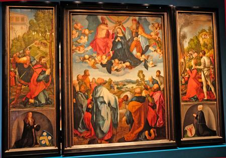 Bilanz-Altar der Familie Heller. Foto: Diether v. Goddenthow