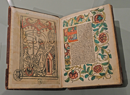 Kräuter und Apothekerbuch des 15. Jahrhunderts. Foto: Diether v. Goddenthow