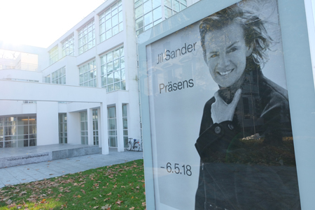 """Jil Sander. Präsens"" vom 4. Nov. 2017 bis 6.Mai 2018 im Museum Angewandte Kunst Frankfurt,     Foto: Diether v. Goddenthow"