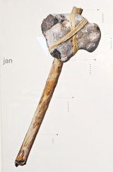 Der Urhammer aus der Sammlung Prof. Rüdiger Pichler. Foto: Diether v. Goddenthow