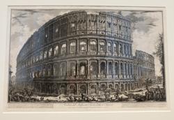 Giovanni Battista Piranesi: Vedute di Roma, Bildkonstruktion und Inszenierung.  Foto: Diether v. Goddenthow