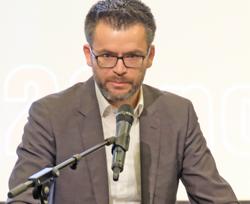 Ministerial-Rat Christian Bührmann vom  Hessischen Ministeriums für Wissenschaft und Kunst. Foto: Diether v. Goddenthow