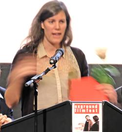 Sophie Linnenbaum. Pix wurde auch mit dem Deutschen Kurzfilmpreis ausgezeichnet. Foto: Diether v Goddenthow