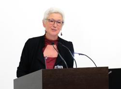 Kulturamtsleiterin Ingrid Roberts.  Foto: Diether v. Goddenthow