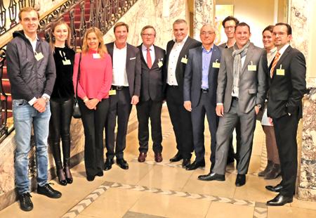 Der Vorstand des Fördervereins Stiftung Deutsche Sporthilfe Wiesbaden e.V.. Foto: Diether v. Goddenthow