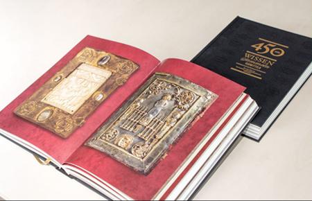 450 JAHRE WISSEN, SAMMELN, VERMITTELN – FESTSCHRIFT ZUM JUBILÄUM DER UNIVERSITÄTS- UND LANDESBIBLIOTHEK DARMSTADT ERSCHIENEN