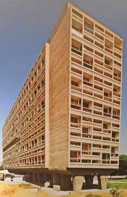 Le Corbusier: Unitré d`Habitation. Marsaille, Frankreich, 1947 - 1952.