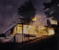 Die legendäre Villa Tugendhat der ersten Serie, die insgesamt 40 bereits abgeschlossene Arbeiten umfasst.